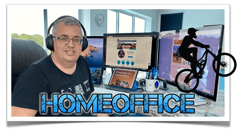 Mario Engel im Homeoffice